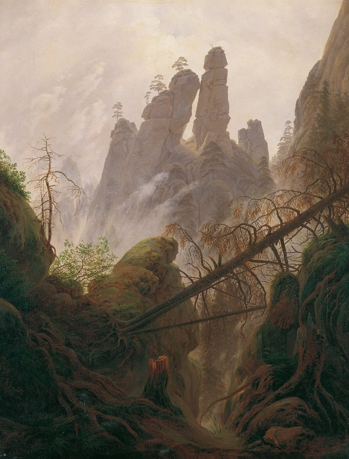 800px-Rocky_Landscape_in_the_Elbe_Sandstone_Mountains_-_Caspar_David_Friedrich_-_Google_Cultural_Institute